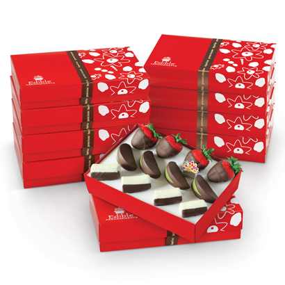 12 Count of Mixed Dipped Fruit™ Gift Set