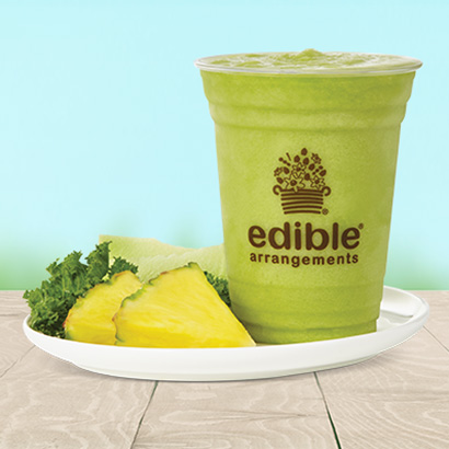 Pineapple, Honeydew, & Kale Smoothie