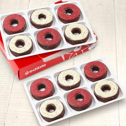 Edible Donuts Canadian Pride