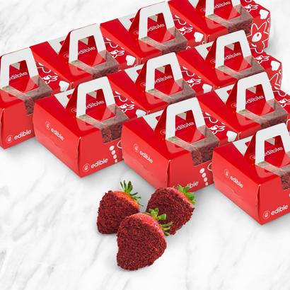 Red Velvet Berry Treat Box Bundle