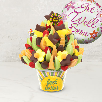 Get Well Delicious Celebration® Dipped Strawberries & Pineapple