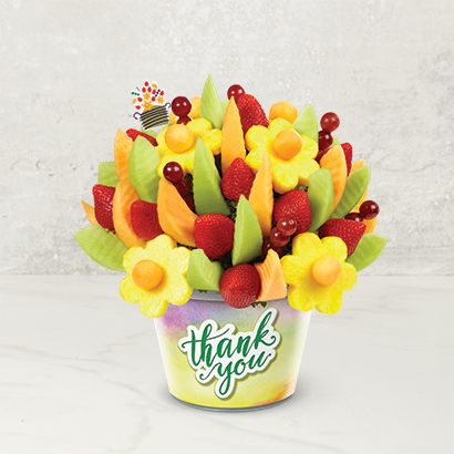 Delicious Fruit Design - Thank You Container