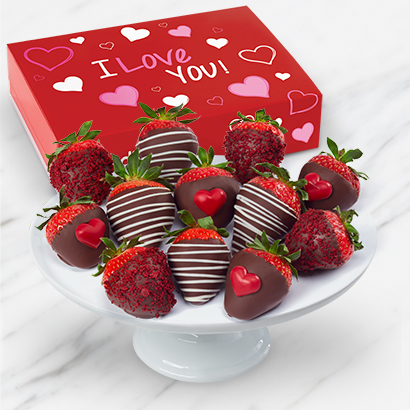 I Love You Valentines Day Berries