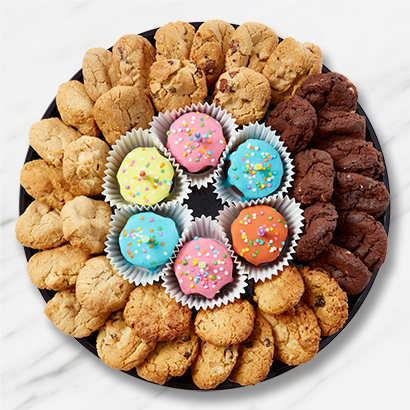 Birthday Cookies & Drip Cakes Platter