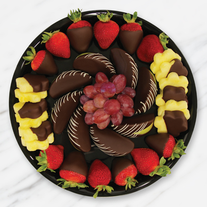 Chocolate Dipped Indulgence Platter