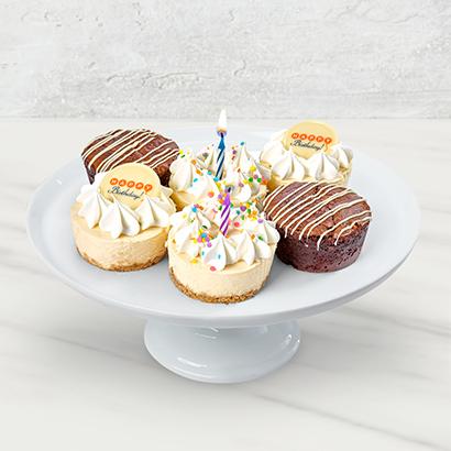 Brownie and Cheesecake Birthday Box