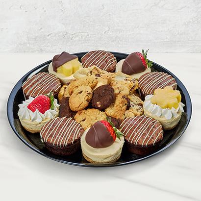 Chocolate and Cheesecake Dessert Platter