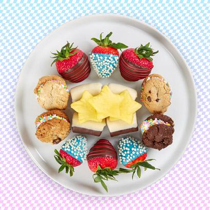 Cookie & Fruit Power-Up Platter