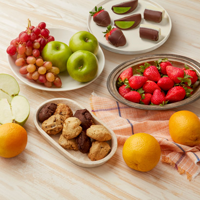 Cookies Fruit  Chocolate Gift Box