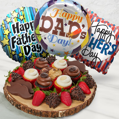 Fathers Day Cupcakes and Dipped Treats