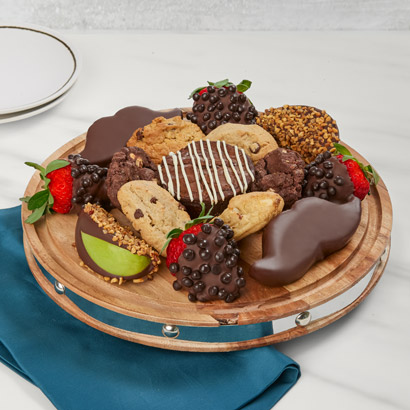 Afternoon Coffee and Treats Platter
