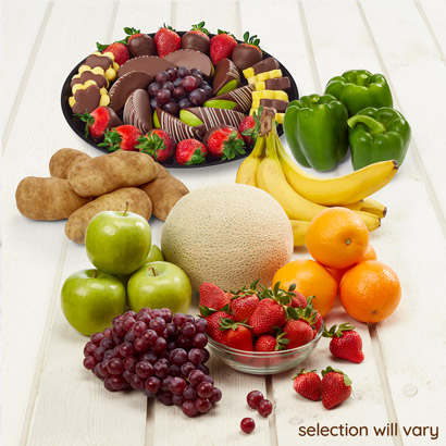 Fresh Produce and Dessert Bundle