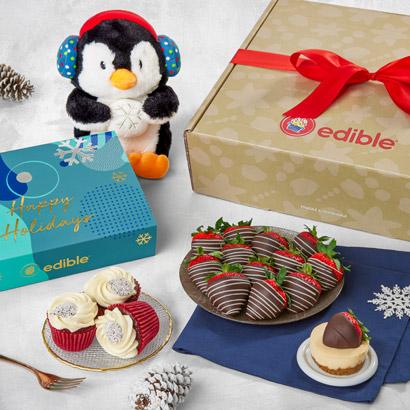Holiday Treats and Cuddles Gift Box