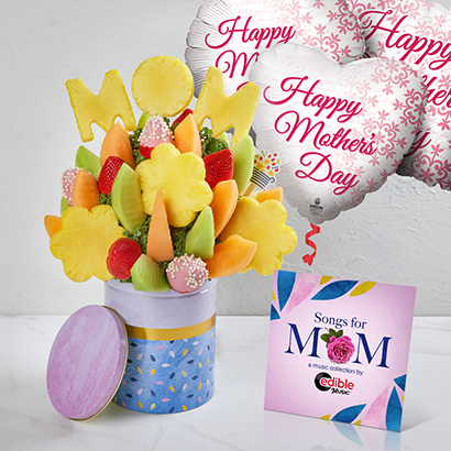 Mothers Day Vanilla Rose & Music Bundle