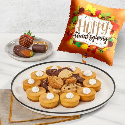 Fall Pumpkin Cheesecake and Cookie Bundle