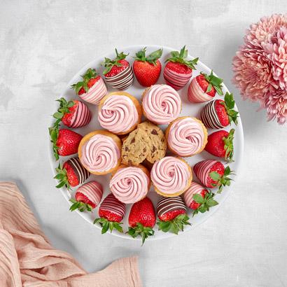Strawberry Sweets Dessert Platter