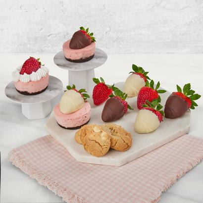 Ultimate Strawberry Cheesecake Dessert Box