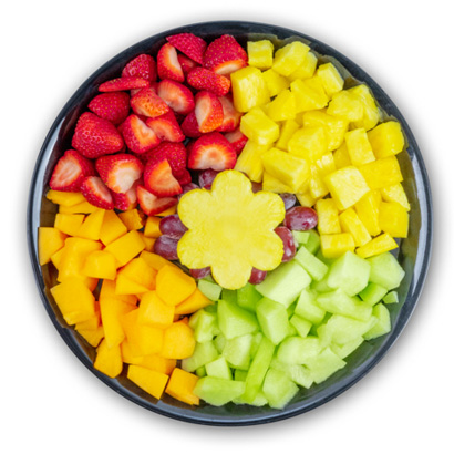 Slice of Sweet Fruit Platter