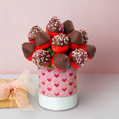 Valentines Day Berry Bouquet