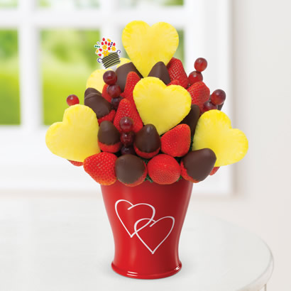 Blooming Hearts®  Dipped Strawberries