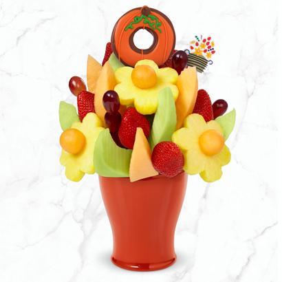 FruitFlowers® Bouquet - Pumpkin Edible® Donut