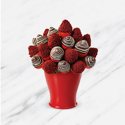 Red Velvet Berry & Swizzle Chocolate Bouquet