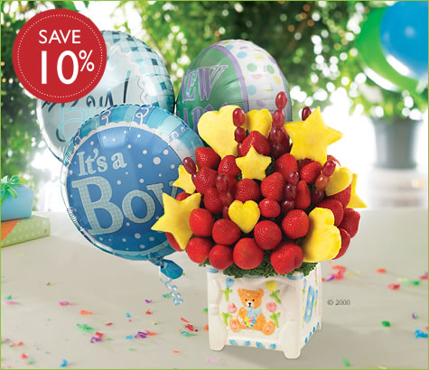 Edible Arrangements Fruit Baskets Welcome To The World Baby Boy