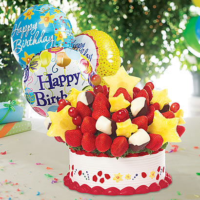 Brilliant Edible Arrangements Fruit Baskets This Birthday Takes The Cake Personalised Birthday Cards Paralily Jamesorg