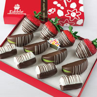 Swizzle® Strawberries, Apples & Bananas Box