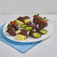 Chocolate Dipped Strawberries Apples  Pineapple Box