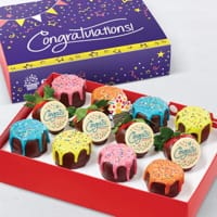 Conrgatulations Pineapple Drip Cakes™ & Berries