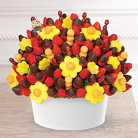 Berry Chocolate Bouquet® with Chocolate Covered Strawberries