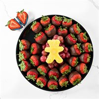 Gender Reveal Strawberry Platter