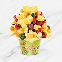 Rainbow & Butterflies Fruit Bouquet