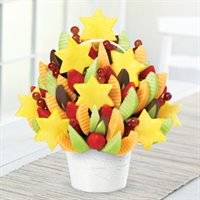 Star Of David Celebration Dipped Apple Wedges