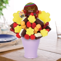 Thank You Bouquet w/ Thank You Belgian Choc Pop