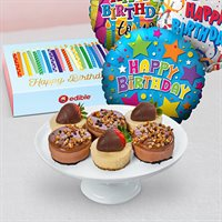 Birthday Cheesecake & Balloons Bundle