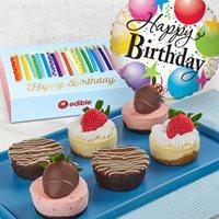 Brownie Cheesecake Birthday Wishes