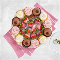 Cupcake Trifecta Platter