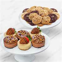 Fall Cookies and Cheesecake Box