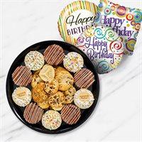 Happy Birthday Chocolate Cheesecake Platter