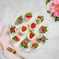 Mother's Day Cheesecake Platter
