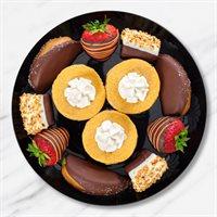 Pumpkin Cheesecake  Chocolate Fruit Platter