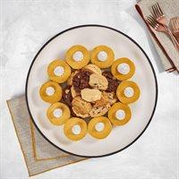 Pumpkin Cheesecake  Cookies Platter