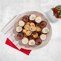 Red Velvet Cupcakes  Assorted Cookies Platter