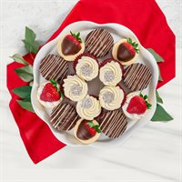 Red Velvet Cupcakes & Assorted Desserts Platter