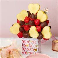 Blooming Hearts Dipped Berries