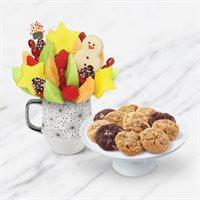 Santa's Mug & Cookies