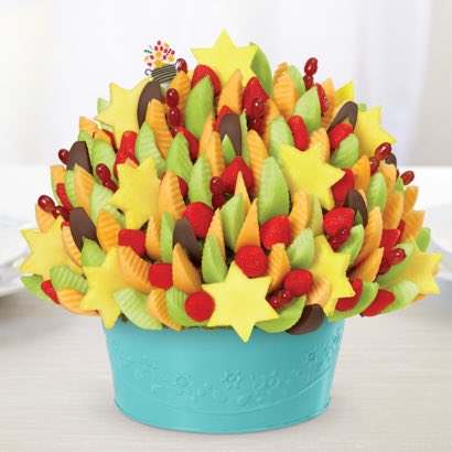 Star of David Party® Dipped Apple Wedges
