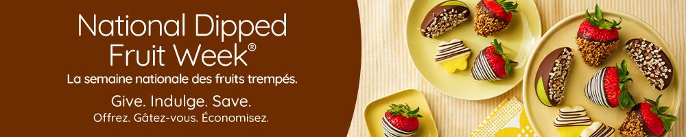 National dipped fruit week